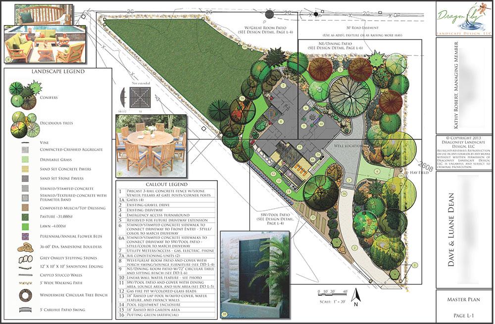 Portfolio dragonfly landscape design boise idaho for Garden design portfolio